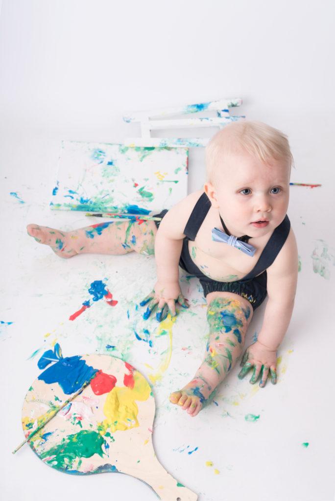Lilla Picasso bebisfotografering i Luleå